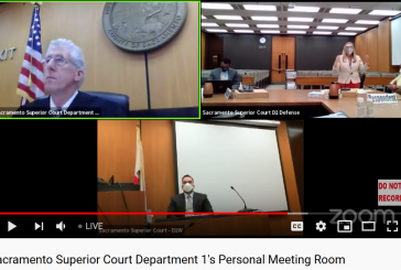 Defendant Forces Rare 'Real' – Not Zoom – Prelim Hearing to be Held in Sacramento Court