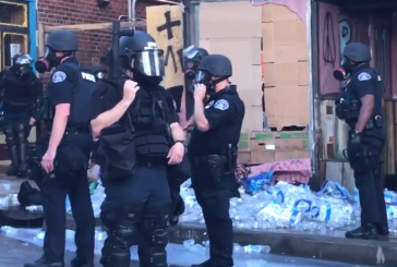 Police Destroy Medical Supplies and Water Bottles Amid Protests