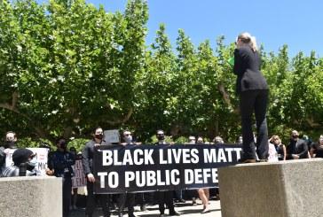 Photos from Sacramento BLM Public Defender Event