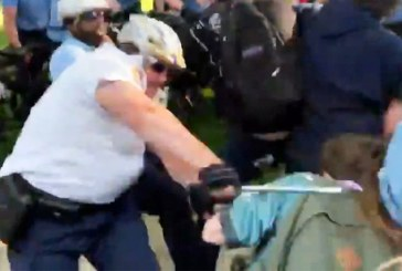 Police Beat Women to Ground in Tampa and Philadelphia; Cop Charges Police Trained for War, not to Protect and Serve