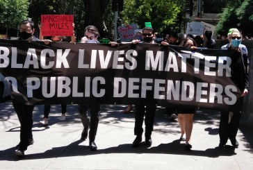 Sacramento Public Defenders Rip Racist Court System in George Floyd Rally Monday