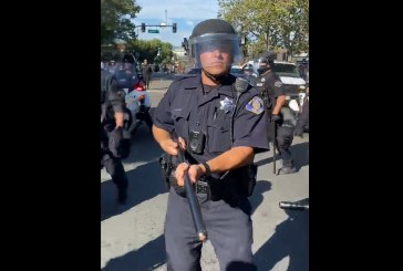 Video Footage Shows San Jose Police Officer as Aggressor on Multiple Occasions during Protests