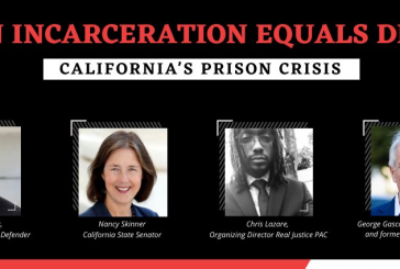 California Leaders Discuss COVID and the Need to Reduce Prison Populations