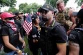 Proud Boys Hate Group members attend Philadelphia's FOP Police Union Party