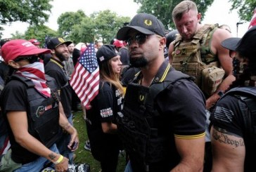 Proud Boys Hate Group Members Attend Philadelphia's FOP Police Union Party