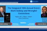 Vanguard Discusses Wrongful Convictions at Its 10th Annual Fundraiser, Mark Godsey as the Keynote Speaker (with Video)