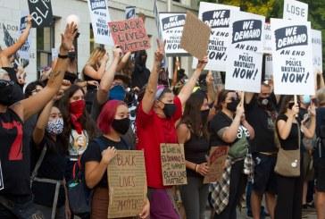 Hundreds of Police Violence Protestors and Counter Protestors Swarm Region; 7 Arrested