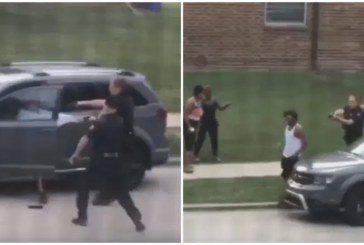 Demands for End to Police Violence Deepen after Wisconsin Police Shoot Black Man Point Blank in Back 7 Times while His Children Watch