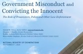EXONERATIONS: Part VI – Concealing Evidence Most Common Misconduct Leading to False Convictions
