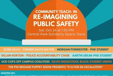 """Upcoming """"Reimagining Public Safety Community Teach-In"""" On Saturday"""