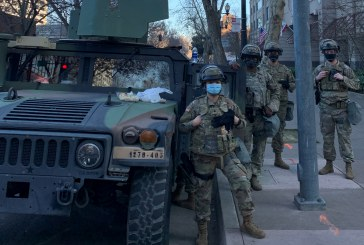 Huge Police, Military Presence Locks Down State Capitol – Only Handful of Protestors Show Up