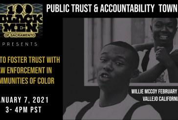 Vallejo, Sacramento '100 Black Men' Forum Discuss 'How Can We Establish Trust in Law Enforcement?'