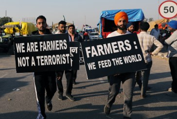 Farmers Protest Unfair Agricultural Business Bills on the Streets of the Indian Capital