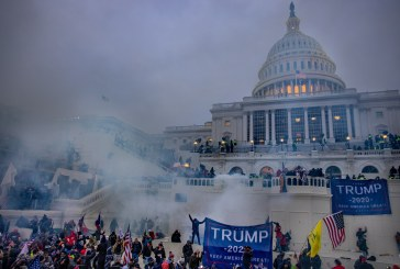 Pro-Trump Rioters Breach the U.S. Capitol During Electoral College Voting for Biden