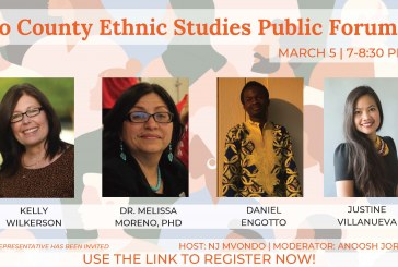 Vanguard Webinar: Yolo County Ethnic Studies Public Forum (Video)