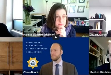 SF District Attorney Boudin, Other Progressive District Attorneys Share Challenges as Progressive Prosecutors