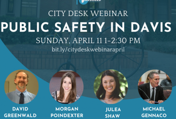 Vanguard's City Desk Webinar – Public Safety in Davis (Video)