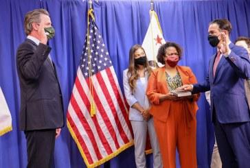 Bonta Sworn In as Next California Attorney General