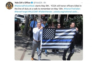 Sunday Commentary: Reisig's Office Displays Thin Blue Line Flag Despite the Controversy That Swirls Around It