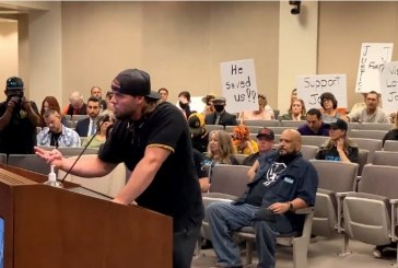 A Police Shooting of An Unarmed Man Triggers a Conflict with Proud Boys at a Modesto City Council Meeting
