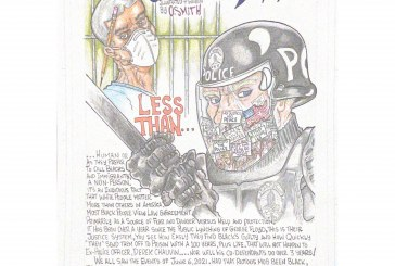 Incarcerated Artist, Orlando Smith, Shares Illustrations on Police Brutality