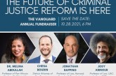 11th Annual Vanguard Fundraiser: The Future of Criminal Justice Reform Is Here