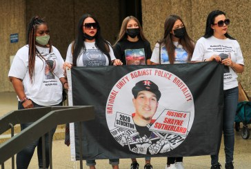 Stockton Community, Family Members Demand Answers in the Killing of Shayne Sutherland by Police