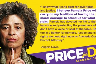 Price's Candidacy for Alameda DA Gains Endorsement from 70s Icon Angela Davis