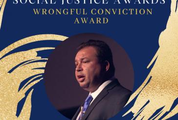 Vanguard Justice Award to Exoneree Jeffrey Deskovic