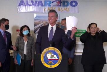 Governor Signs Legislation Attacking Homelessness