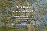 Announcing the Tree Davis Legacy Celebration Oct 23rd