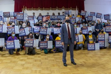 Boudin and Supporters Kick Off Anti-Recall Campaign with a Rally