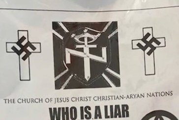 FBI, Sheriff Investigate Hate Incidents in Sacramento Suburb of Carmichael; Homes, School Targeted with Baggies of White Rice, Swastika and Aryan Brotherhood Flyer
