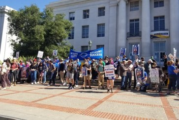 UC-AFT Members Rally Together, Warning the UC Administration of A Possible Strike